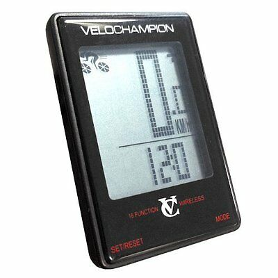 VeloChampion 16 Function Wireless Cycle Computer