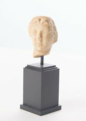 Ancient Roman Marble head of a Woman c.1st-2nd Cent AD.