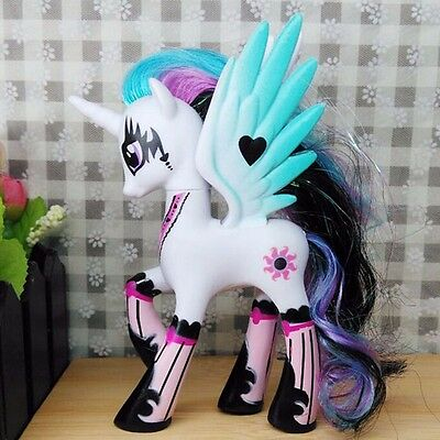 14cm Sun Princess Celestia My Little Pony Doll Action Figure Toy Gift Present