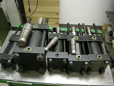 New Lot Of 10 Hanna Hydraulic Cylinders For Automation Production Machine Shop