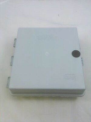 """9""""x9""""x3"""" OUTDOOR CABLETEK ENCLOSURE PLASTIC GRAY UTILITY CASE Fast Shipping!!!"""