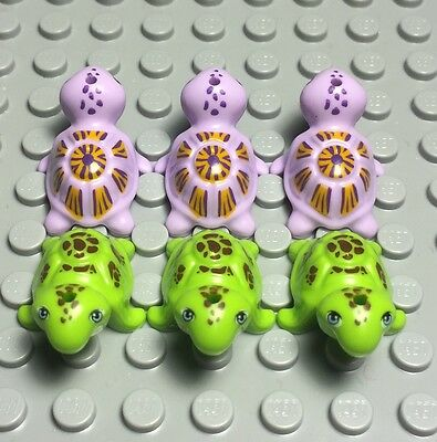 1x Animal Turtle tortue mer water friends vert citron//lime 11603pb01 NEUF Lego