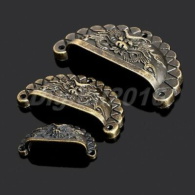 4pcs Chinese Dragon Design Kitchen Cupboard Cabinet Cup Drawer Shell Pull Handle