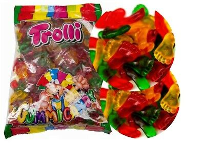 2 kg x TROLLI FEET MIX Lollies Bulk Party Favours Sweets Party Favors Candy