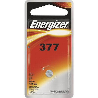25 Pack Energizer CR377 1.55Vcc Lithium Battery