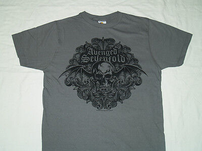 AVENGED SEVENFOLD - Scrolled - Sizes S-M-L-XL-2XL Official T SHIRT Brand New