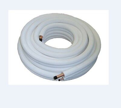 Air Conditioner Tube 10m 1/4 3/8 Insulated Copper Pipe Air Con Gas Pipes 10mtr