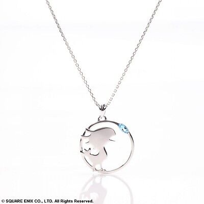FINAL FANTASY SILVER NECKLACE Chocobo Square Enix Official JPN NIB From Japan