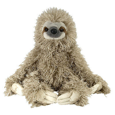 Wild Republic Animal Plush Toy  Three Toed Sloth 12''