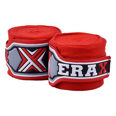 2 x HAND WRAPS ELEVATOR PROTECTION MMA MUAY THAI PUNCHING BOXING AUS SELLER