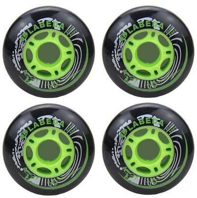 DZ927 PU Replacement Wheels For Rollerblade Skating Inline Skate Shoes 80mm 4PC♫