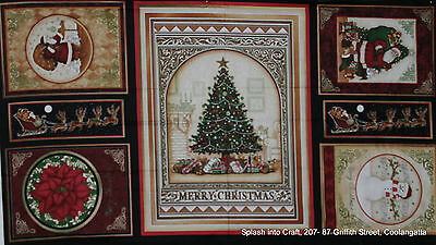 Wall Or Quilt Panels - Christmas Elegance - Gorgeous Christmas Panel