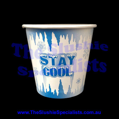 Stay Cool 8oz/250ml Paper Cup / The Slushie Specialists