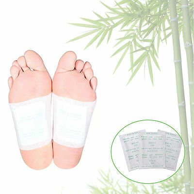 New Detox Foot Pad Patch Adhesive Detoxify Toxins Keeping Healthy Care
