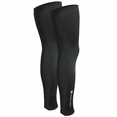 VeloChampion Thermo Tech Lite Cycling Leg Warmers Black