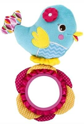 Bright Starts Tweet Reflection Cot Car toy reflections childs kids toddlers uk