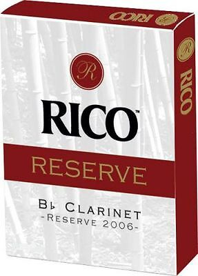 Rico Reserve Bb Clarinet Reeds - #3 (Pack of 2)