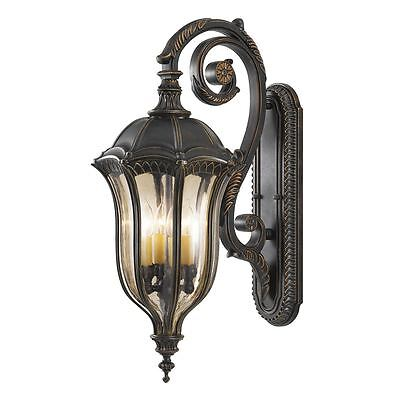Baton Rouge Outdoor  Large Wall Lantern - Elstead FE/BATONRG/L