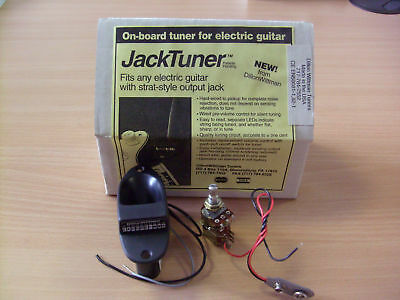 Jack Tuner for Stratocaster style output.