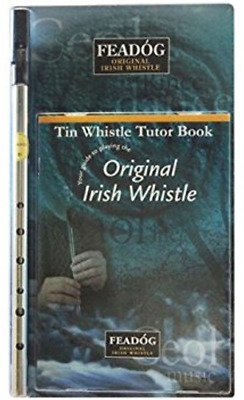 Irish Whistle and Tutor Book Perfect For Beginners Child and Adult Easy Learning