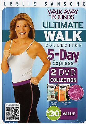 Leslie Sansone: Walk Away the Pounds Ultimate Collection : 9 complete workouts :