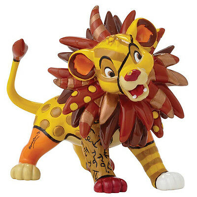 NEW OFFICIAL Disney by Britto Simba Figurine Figure 4049380