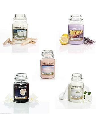 Yankee Candle Large Jar Fresh Collection - Choose Your Fragrance