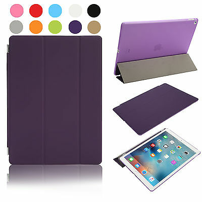Funda Smart Cover + Case + Protector Tablet Apple Ipad 2 3 4 - Morado