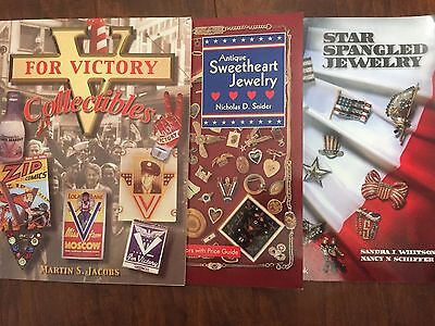 Star Spangled Jewelry, Sweetheart Jewelry, V For Victory Collectibles Book Set