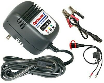 Optimate 1 Fully Automatic 12V Motorcycle / Atv Battery Charger