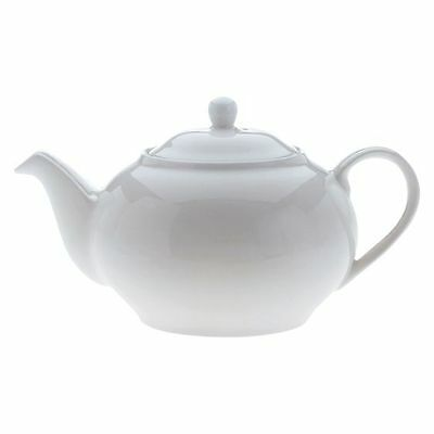 NEW Maxwell & Williams White Basics 6-Cup Teapot