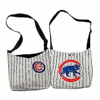 MLB Chicago Cubs Pinstripe Jersey Tote Bag NEW SEE DESCRIPTION!