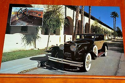 Vintage Poster 1930 Rolls-Royce Phantom 1 Marlborough Town Car In 1970S
