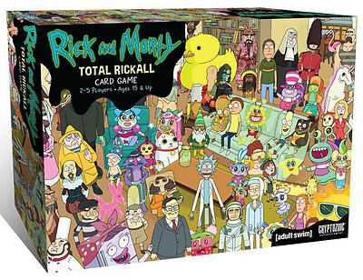 Rick and Morty: Total Rickall Cooperative Card Game CZE 02174