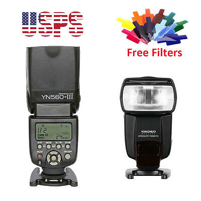Yongnuo YN-560 III Wireless Flash Speedlite for Canon Nikon Pentax Olympus DSLR