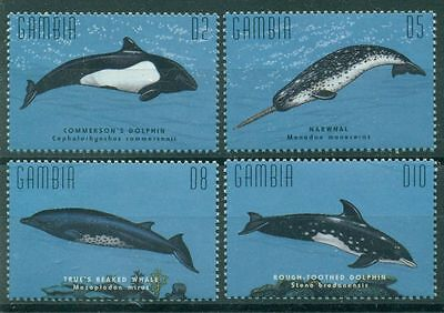 Gambia 1995 Delphins & Whales Mnh M8943
