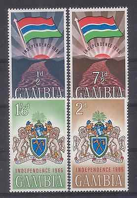 Gambia 1965 Independence - Flag Mnh M8944