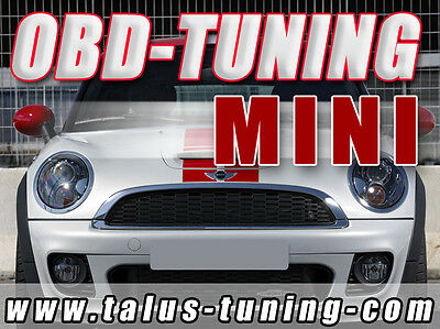 CHIPTUNING MINI COOPER S (R50/R52/R53) - OBD-Tuning Do-it-Yourself inkl. Flasher