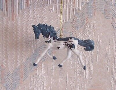 Trail Of The Painted Ponies Vintage Greetings Christmas Ornament