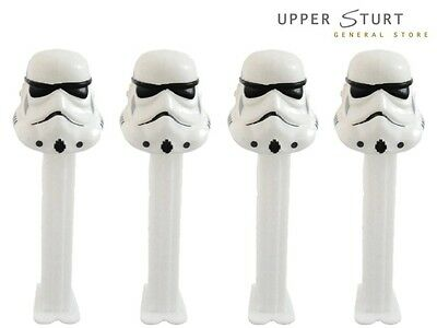 Pez Star Wars Stormtrooper - 4 Pack. FAST N FREE DELIVERY