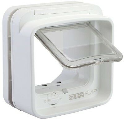 Innovative Multifunctional Dual Scan Microchip Controlled White Cat Flap