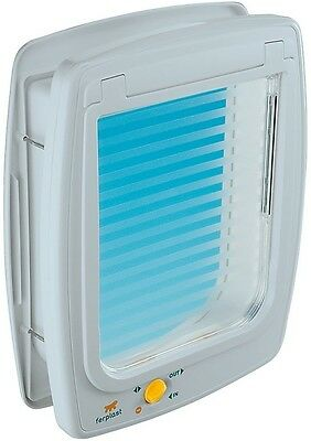 Durable Innovative 4-Way Build-in White Flap - Entrance Size 21.8x25.5 cm