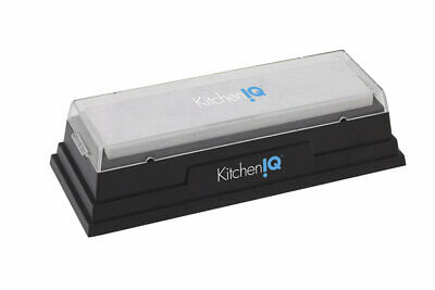 NEW KITCHEN IQ NATURAL ARKANSAS KNIFE SHARPENING STONE 150x40MM SAVE!