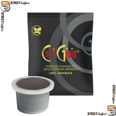 100 Cialde Capsule Caffe Gioia 100% Arabica Comp Uno System Indesit Kimbo Illy