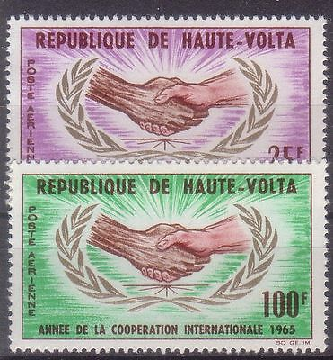 Upper Volta 1965 Year Of International Cooperation Mnh M4777