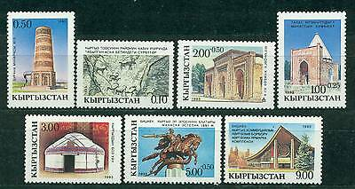 Kyrgyzstan 1993 National Culture & History Mnh M13820