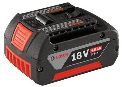 Genuine Bosch Lithium-Ion 18V Coolpack 4.0 Ah Battery - Li-On - Robust