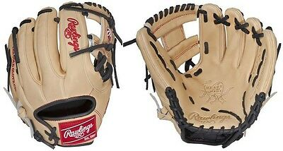 """Rawlings Camel /Black 11.25"""" Heart Of The Hide Narrow Fit Youth Baseball Glove"""