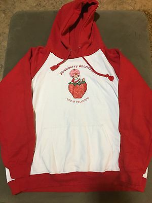 Strawberry Shortcake Brand Vintage Hoodie/Sweatshirt Y XL Great Condition Rare