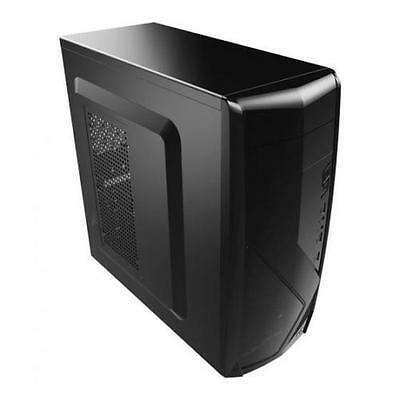 Aerocool CS-1102 Middle Tower Case ATX Full Black